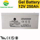 batterie profonde de cycle de gel rechargeable de 250ah 12V
