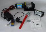 Torno eléctrico de DC12V/24V con la canalización y más del rodillo (3500lb-2)