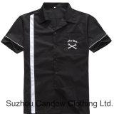 De Kleding van mensen slaat Nieuw op aankwam Overhemden van de Club van Rockabilly van het Katoenen Comité van de Vlam de Uitstekende