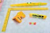 """다기능 측정은 7 """" 알루미늄 벌부 사각 삼각자를 도구로 만든다"""