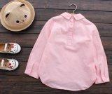 De Katoenen van 100% Kinderen kleedt het Overhemd van de Meisjes van de Jonge geitjes van de Manier van Overhemden