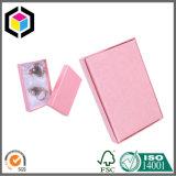 Розовая коробка подарка ювелирных изделий бумаги картона печати цвета для косметик