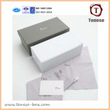 Коробка роскошного подарка бумаги картона упаковывая с печатью логоса