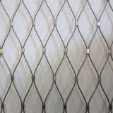 Acoplamiento decorativo tejido virola de la cuerda de /SS316 del acoplamiento de alambre de cuerda