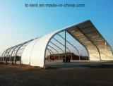 Tente 2017 de toit incurvée par tente de revêtement en PVC De bride de fixation d'avions d'avion à vendre