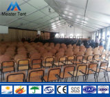 Barraca ao ar livre grande do evento do dossel do PVC com Sidewall e indicador