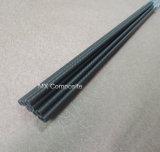 Tubo de alta resistencia de la fibra del carbón, tubo 3k