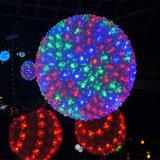 Da esfera decorativa da flor do feriado cores claras do diodo emissor de luz várias opcionais