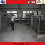 Horno de circulación de aire caliente para panel de aislamiento al vacío