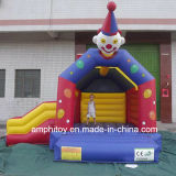 Модель скольжения хвастуна клоуна замока раздувного замока клоуна скача гигантская