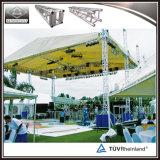 Concierto de escenario de techo de aluminio equipamiento de elevación para la iluminación