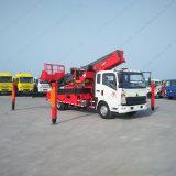 Camion della piattaforma di lavoro aereo di Sinotruk HOWO 4X2