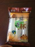 Taza plástica del álamo de China que cuenta la empaquetadora