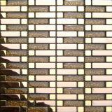 8mm het Gouden Mozaïek van het Glas van het Kristal (VMW3961)