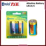 Bateria alcalina Lr20/Lr14/Lr6/Lr03 da manufatura 1.5V de China