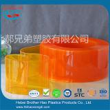Eco-Friendy 주황색 황색 소음 통제 비닐 지구 커튼 문 장비
