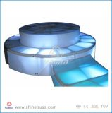 DMX512制御移動式LEDは携帯用段階を上演する
