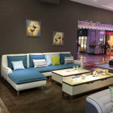 Sofá moderno da mobília do melhor preço para a sala de visitas (FB1138)