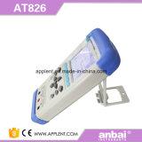 Medidor Handheld de Digitas RCL com relação de comunicação Mini-USB (AT826)