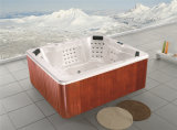 2017 Monalisa Hot Sell Massage Bathtub Outdoor SPA