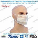 masque protecteur chirurgical dentaire remplaçable de 2ply pp Earloop