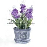Künstliche Lavendel-Blume, weißer Plastiklavendel Bush