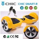 電気Unicycleの小型スクーター2の車輪の自己のバランスのスクーターシックでスマートなSの赤