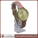 Montre-bracelet résistante de Madame l'eau de quartz d'affaires de mode