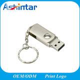 Azionamento dell'istantaneo del USB del metallo di Pendrive di memoria del USB della parte girevole