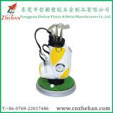 Выдвиженческий держатель пер гольфа мешка подарка при часы стоя на столе