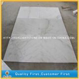 China barata de mármol pulida Guanxi / Bianco blanco suelo de baldosas de piedra para Suelos / Wall