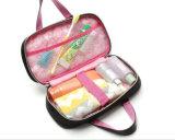 Ultra densamente saco coreano bonito da composição do estilo do saco contínuo da lavagem da mão