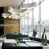 éclairage pendant &Acrylic en métal créateur de la vente 2017hot pour la décoration de salle de séjour