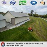 農業の使用のための鋼鉄プレハブの家