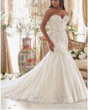Plus Kleding Ctd2015 van het Huwelijk van de Trein van de Meermin van de Grootte de Bruids