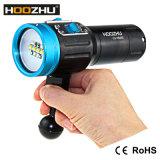 Het Duiken van Hoozhu V13 Video Lichte *12 Vijf Lichte LEIDEN van de Kleur CREE LEDs Flitslicht voor het Duiken Video