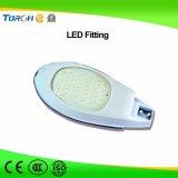 고품질 리튬 건전지 태양 가로등 40W LED 공장