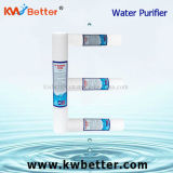 Impianto di per il trattamento dell'acqua con la cartuccia materiale del depuratore di acqua dei pp