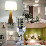 La luz E12 5W del maíz del LED refresca la lámpara de plata blanca del bulbo de la carrocería LED del color