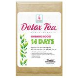 Gros thé de détox de thé de bien-être de ventre de brûlure plate de fines herbes de thé (thé de poussée de matin 14 infusions de jours)