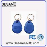 13.56MHz Zugriffssteuerung RFID Keytag mit blauer Farbe