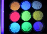 Polvo fotoluminiscente del pigmento con color anaranjado