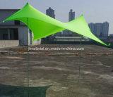 Шатер тени пляжа Lycra шатра навеса Neso тени Sun шатра пляжа навеса Otentik водоустойчивый напольный эластичный с мешками песка