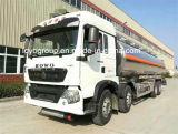 HOWO T5g 8X4の給油車18000Lのアルミニウム石油タンカーのトラック