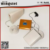850 / 1800MHz Mobile Network GSM Dcs 2g 3G Cell Signal Signal Repeater on Sale
