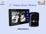 Farben-Video-Gegensprechanlage-Tür ruft Türklingel mit Videokamera an