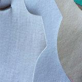 Microfiber respirable calza la tela de cuero de la guarnición para los zapatos Hx-Ml1705