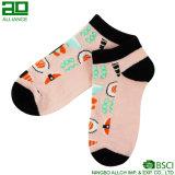 Милые носки лодыжки женщин оптовой продажи шаржа