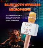 Musique portative sans fil KTV de haut-parleur de chant de microphone de Bluetooth de SWC508 KTV de microphone en métal neuf de Caidao