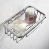 Wall Hanging 304stainless Steel Bathroom Accessory Rectangular Basket (8806)